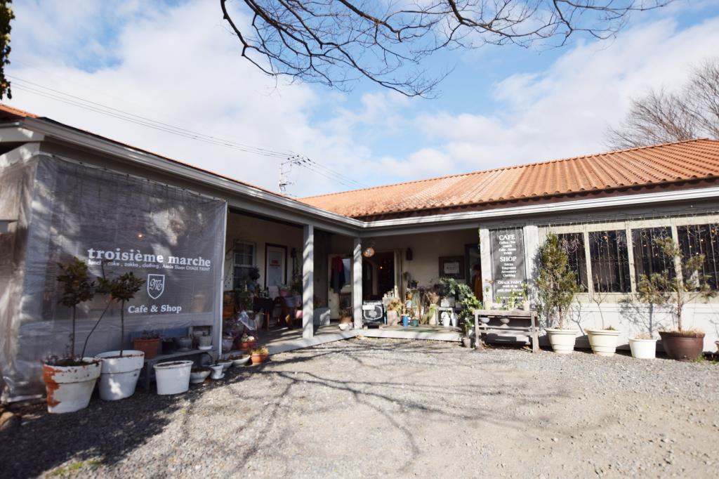 cafe troisième marché 富士河口湖町 カフェ・スイーツ