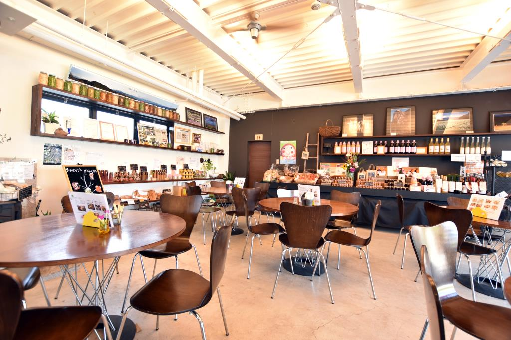 マルサマルシェ クッキングスタジオ 笛吹市 カフェ 喫茶 3