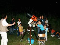 ウッドペッカーキャンプ場「星を見る会」秋イベント