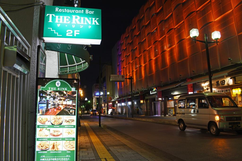 THE RINK 甲府市 グルメ バー 5