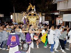 諏訪神社(忍草)例祭