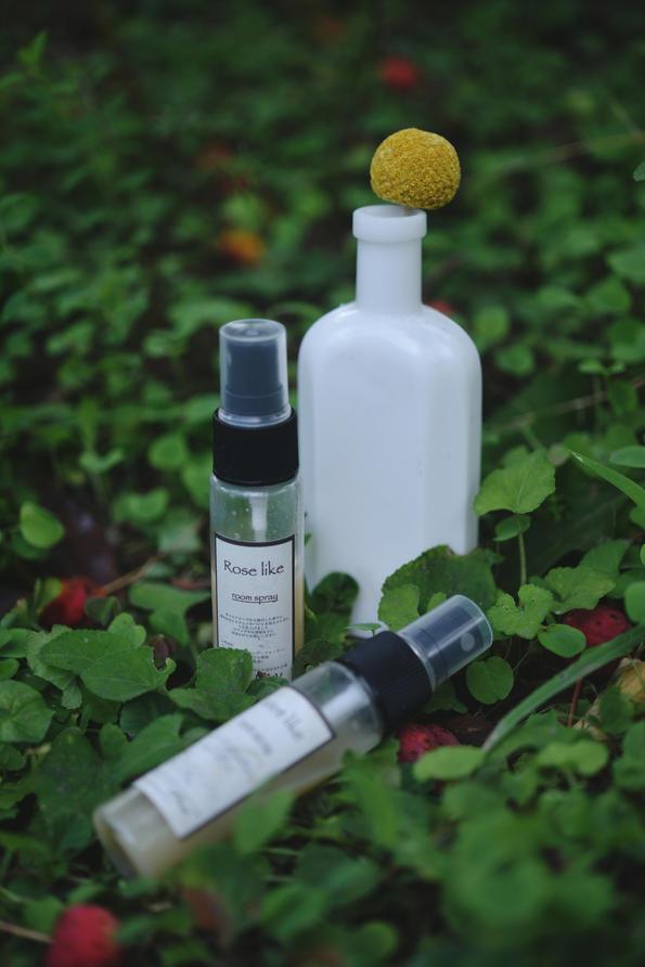 秋の香りをまとう-植物で作る香水つくり