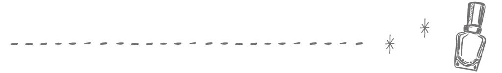 マニキュアの罫線