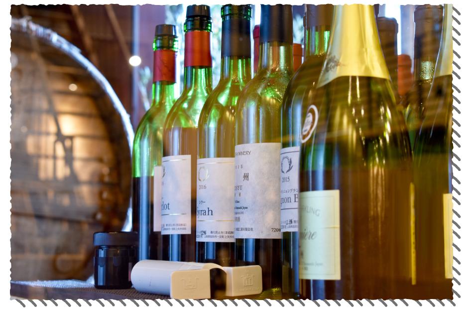 ウッドシェッドのワイン