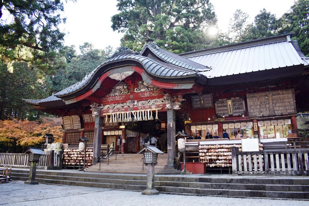 北口本宮冨士浅間神社 初詣
