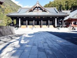 身延山久遠寺 初詣