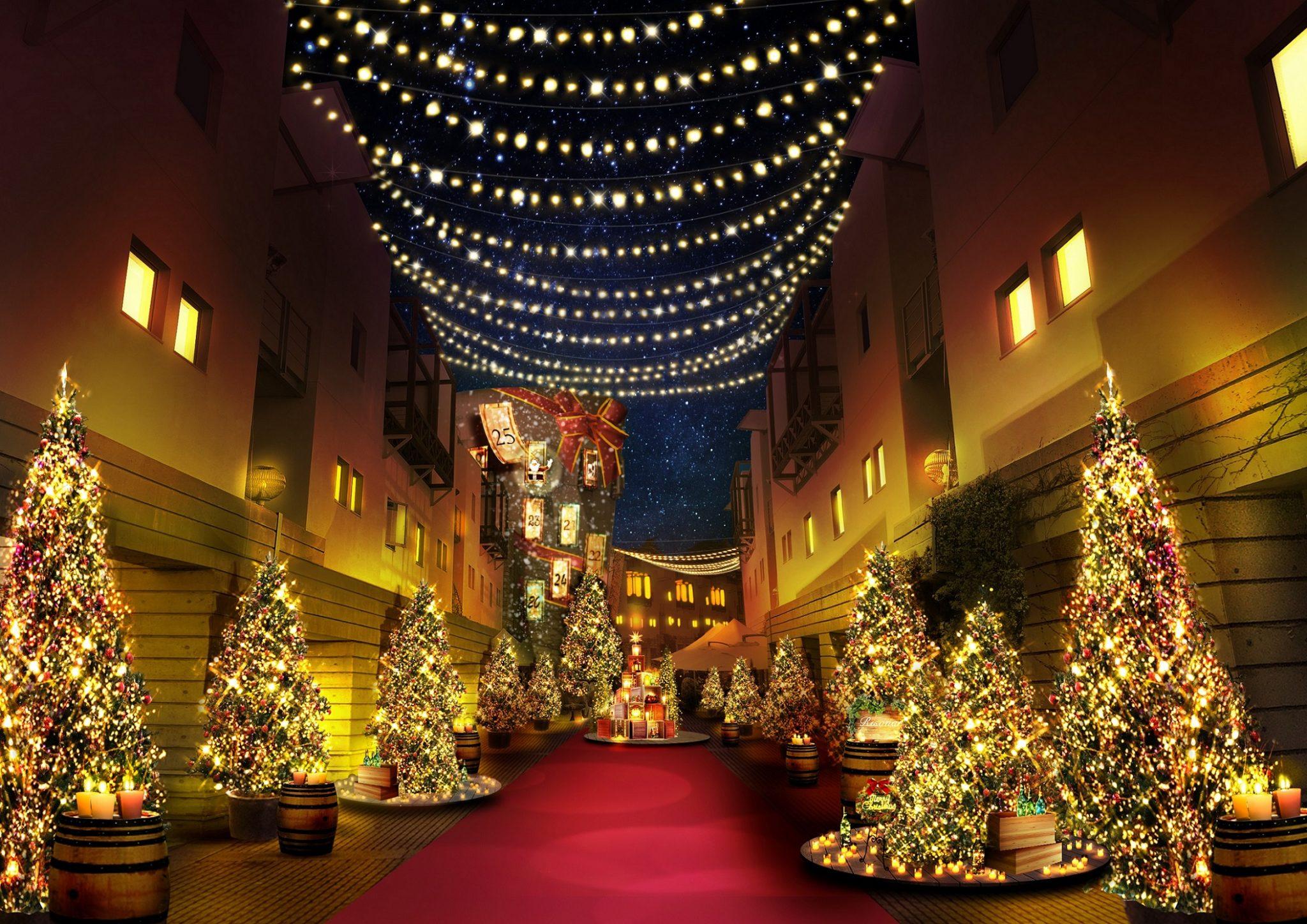 八ヶ岳クリスマスタウン 北杜市 イルミネーション イベント 2