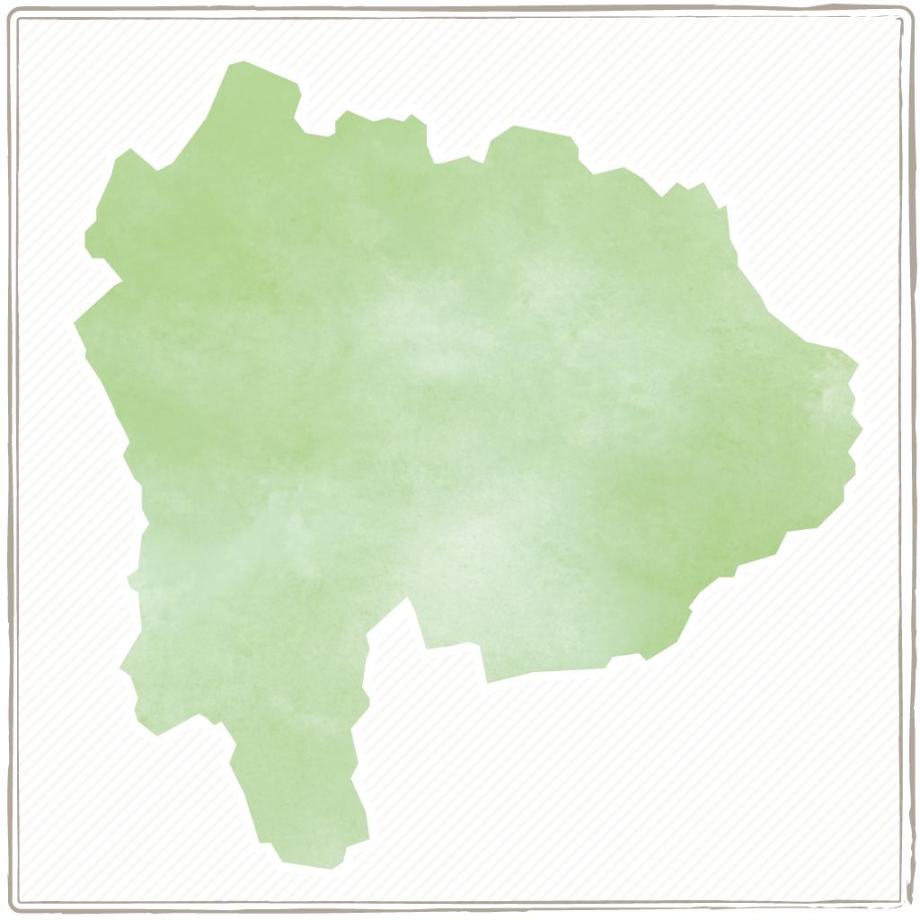 山梨の温泉マップ