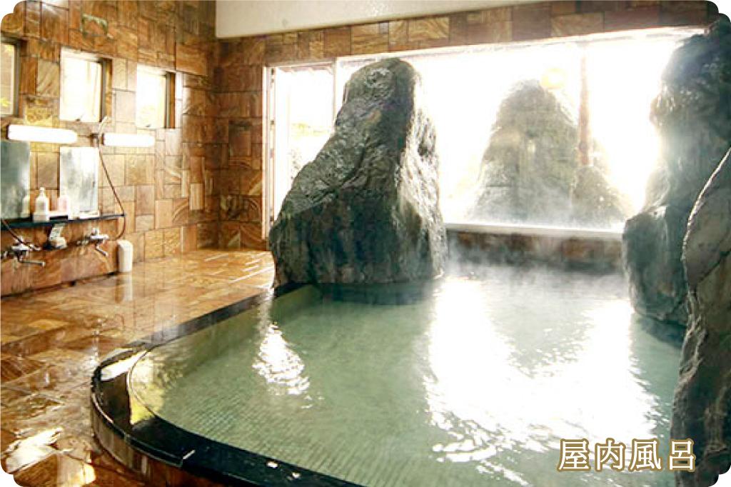 旅館笛吹川 屋内風呂