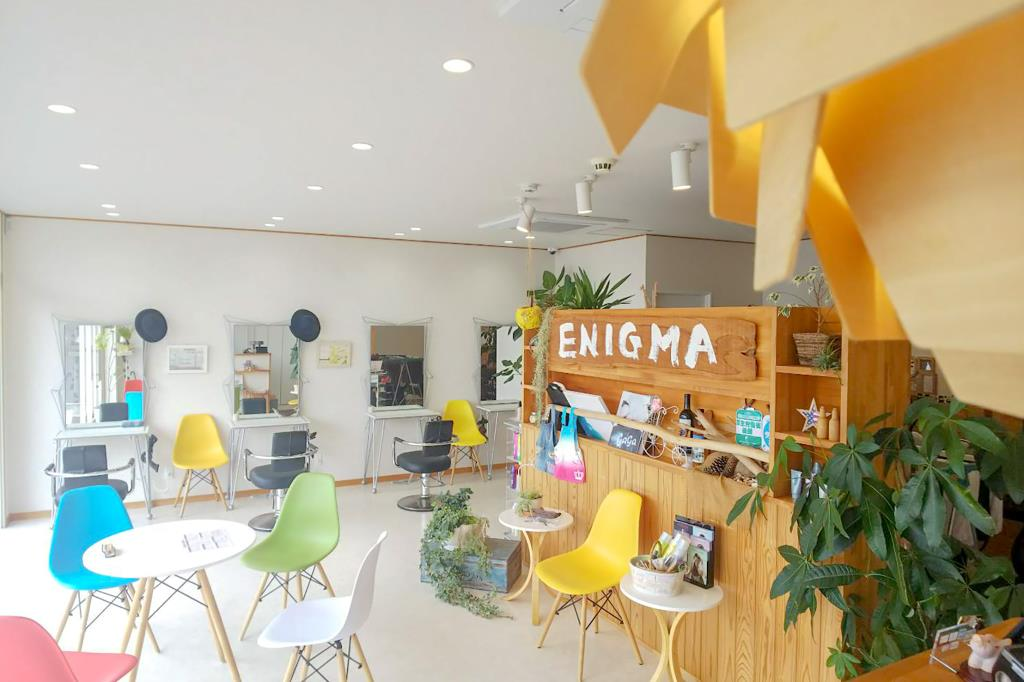 Hair's Mania ENIGMA 甲府市 ヘア 3