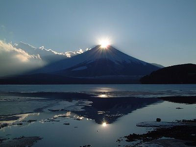 山中湖 DIAMOND FUJI WEEKS