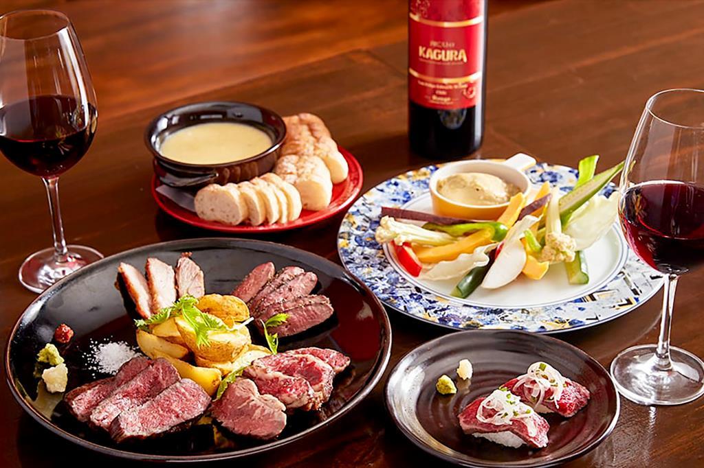肉ビストロKAGURA 昭和町1