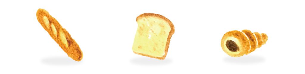 パンのイラスト
