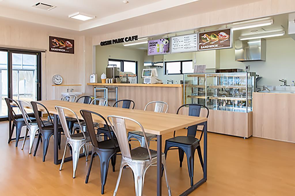OISHI PARK CAFE 富士河口湖町 カフェ・スイーツ