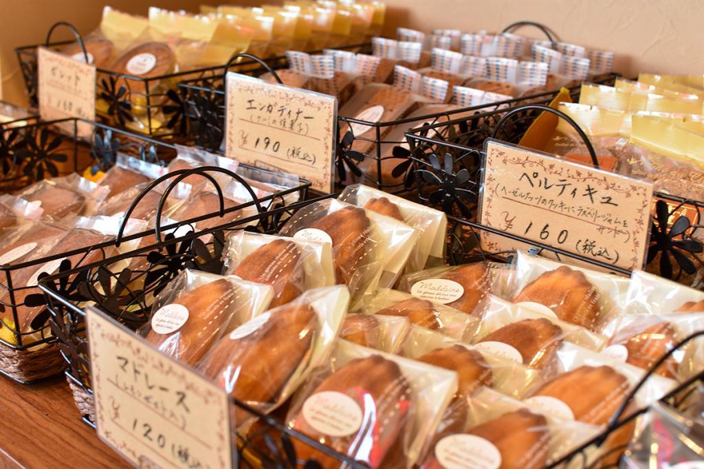 フランス菓子の店 巴里 甲斐市 スイーツ