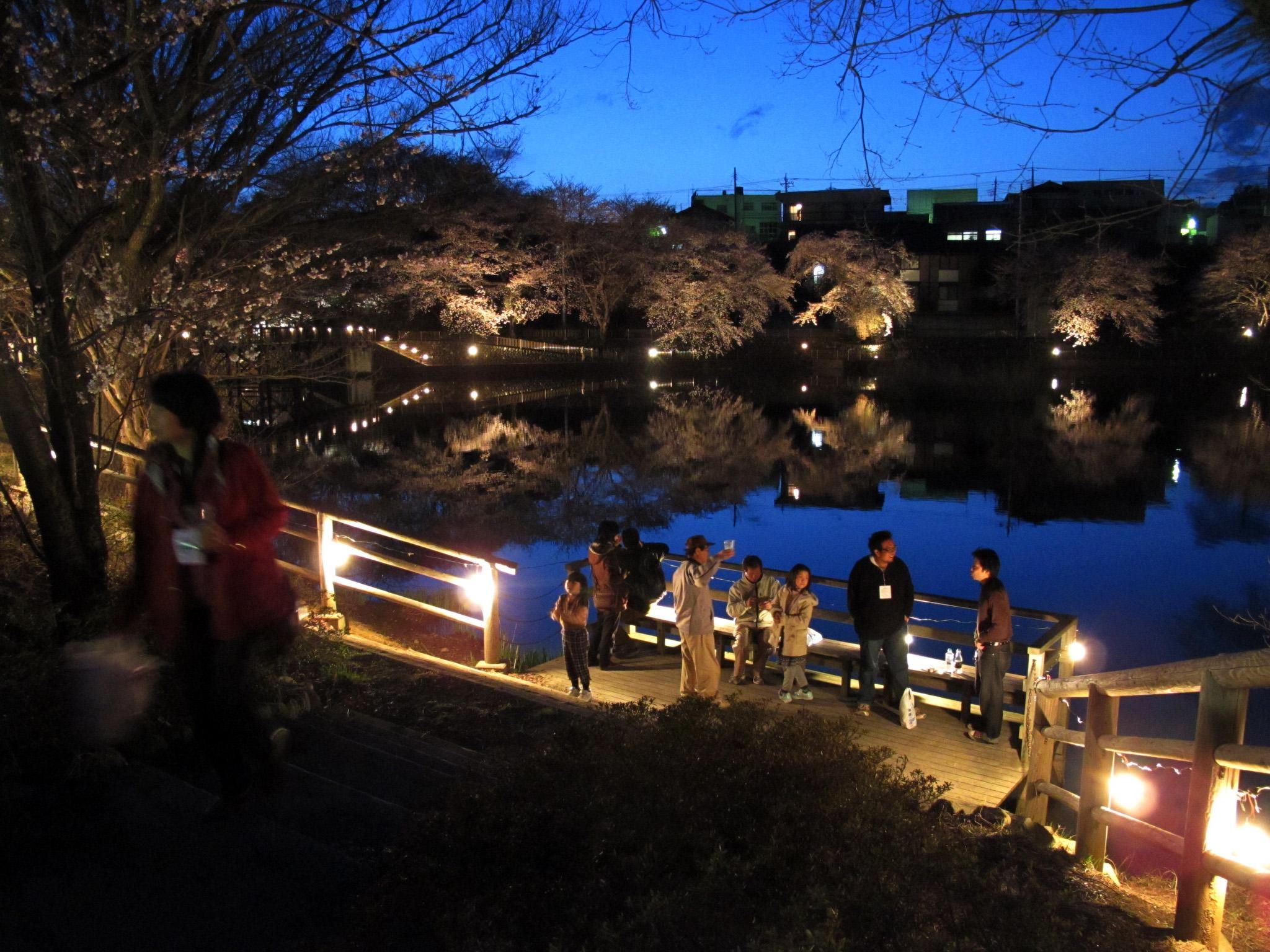 第9回 長坂夜桜まつり
