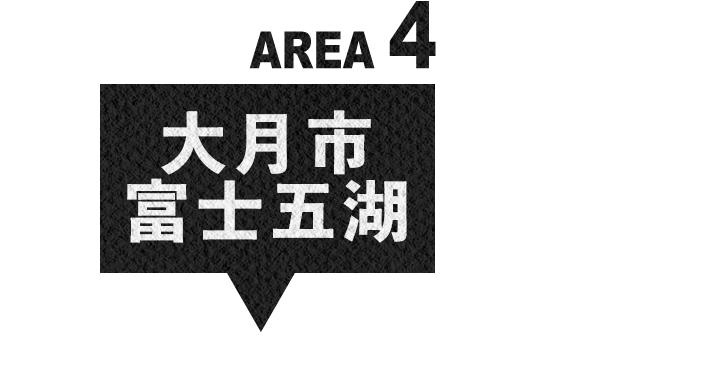 エリア4 大月市・富士五湖