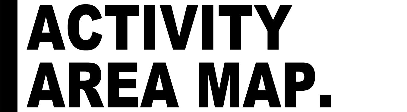 アクティビティ エリア マップ
