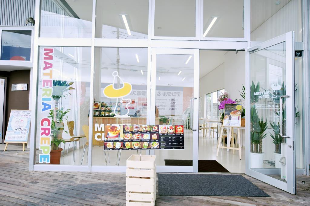 マテリアクレープ 山梨甲府店 甲府市 スイーツ カフェ 5