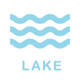 湖のアクティビティアイコン