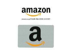 Amazonギフトカード(500円分)