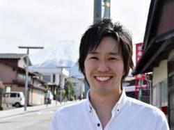 富士北麓を盛り上げる起業家 | 鎌倉 有佑さん