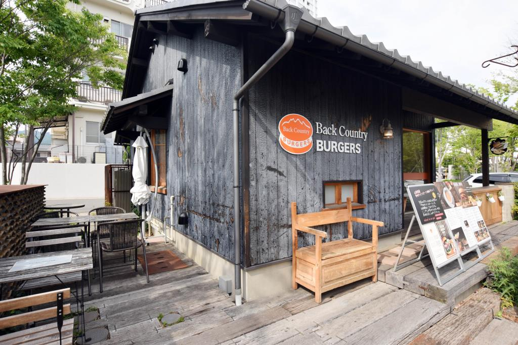 Back Country Burgers 甲州夢小路店 甲府市 カフェ/喫茶店 5
