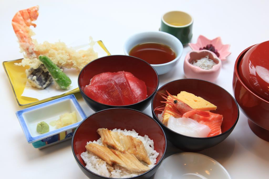富士山 海の家 富士吉田市 和食 1