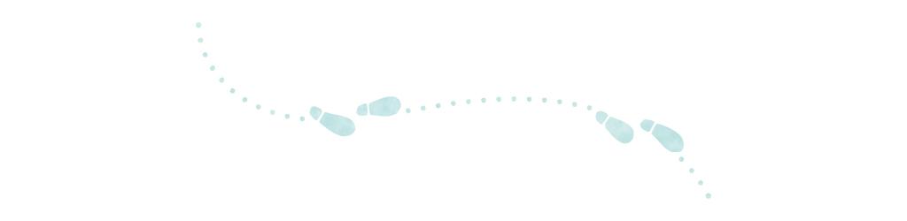 足跡の罫線