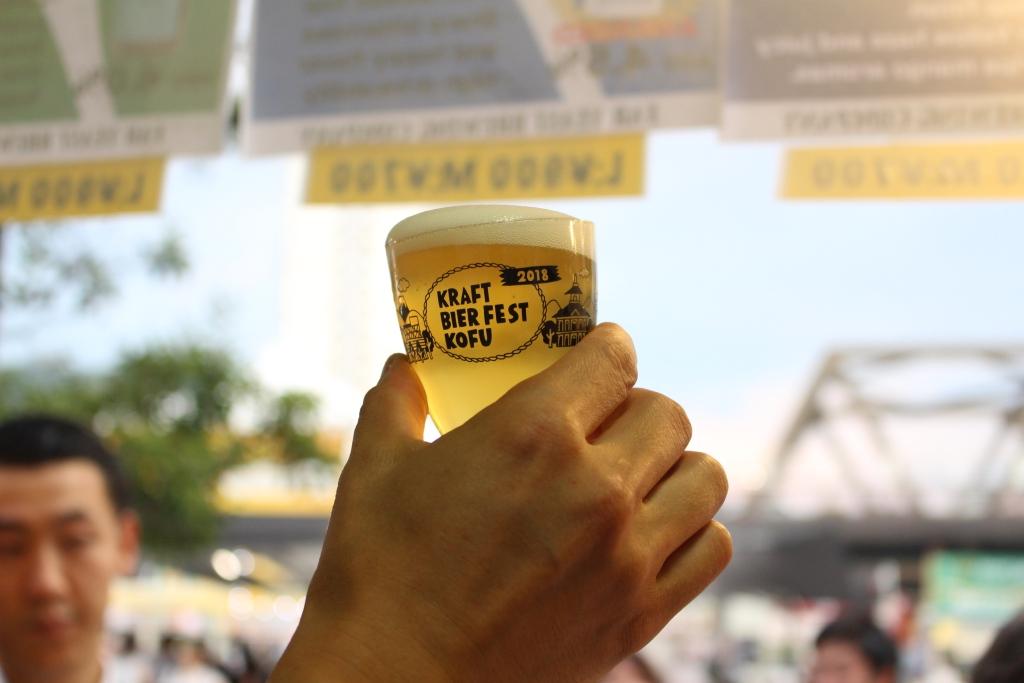 地ビールフェスト 甲府 2019 ビール
