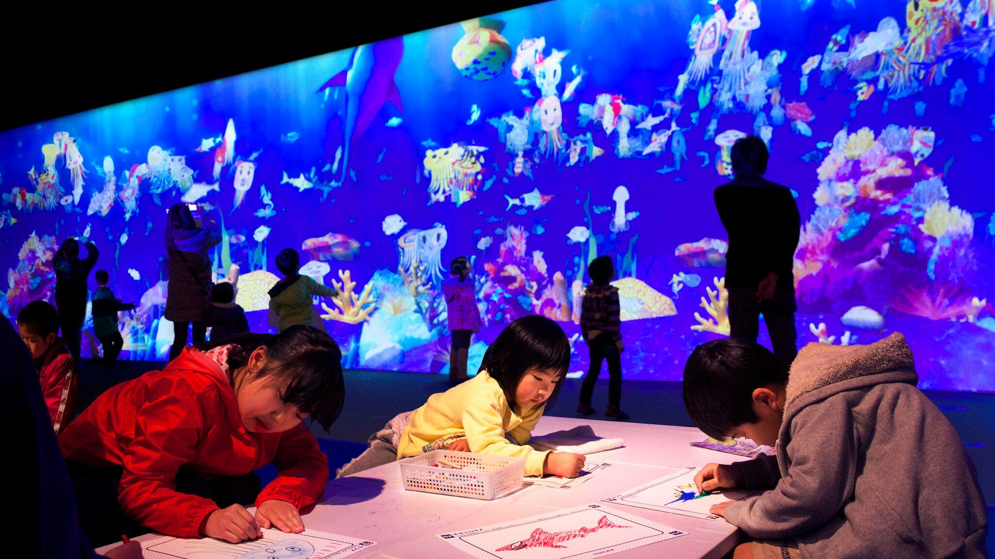 チームラボ 学ぶ!未来の遊園地 甲府市 イベント 3