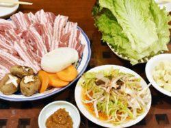 韓国家庭料理 順子