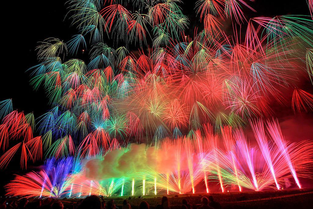 市川三郷町ふるさと夏まつり第30回神明の花火大会