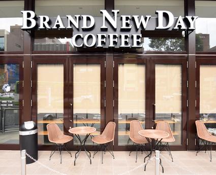 BRAND NEW DAY COFFEEの外観