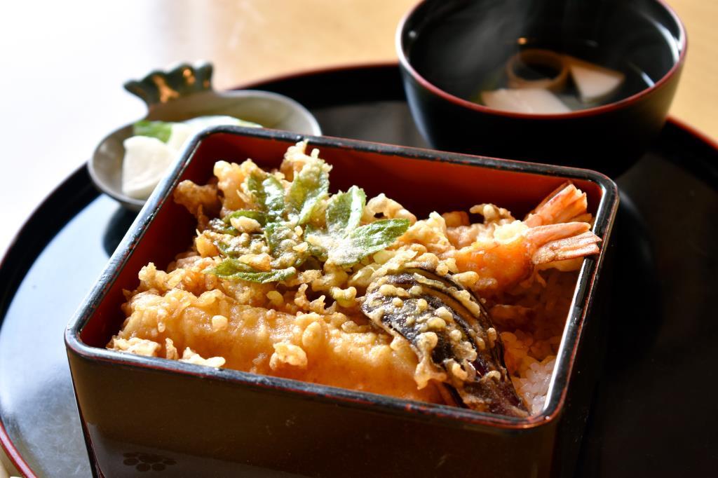 天ぷら なかむら 富士河口湖町 グルメ 和食 1