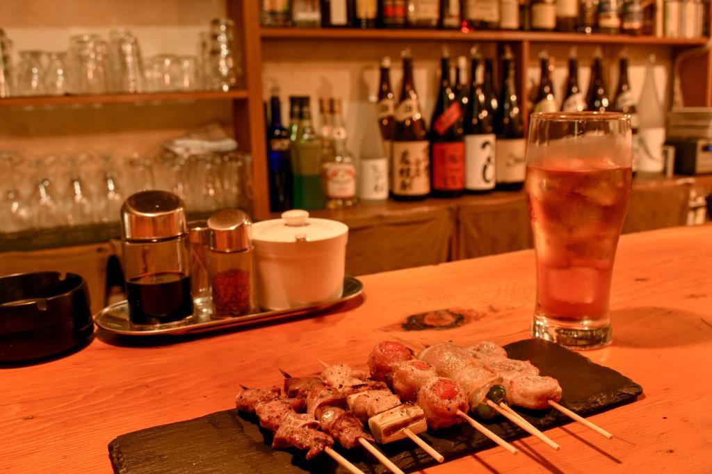 炭火やきとり とばり 富士吉田市 グルメ 居酒屋 2