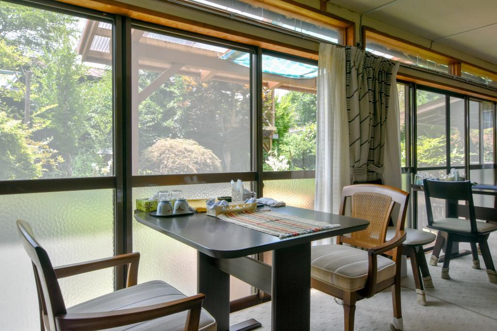 縁側喫茶 よこぶね 富士河口湖町 グルメ カフェ 2