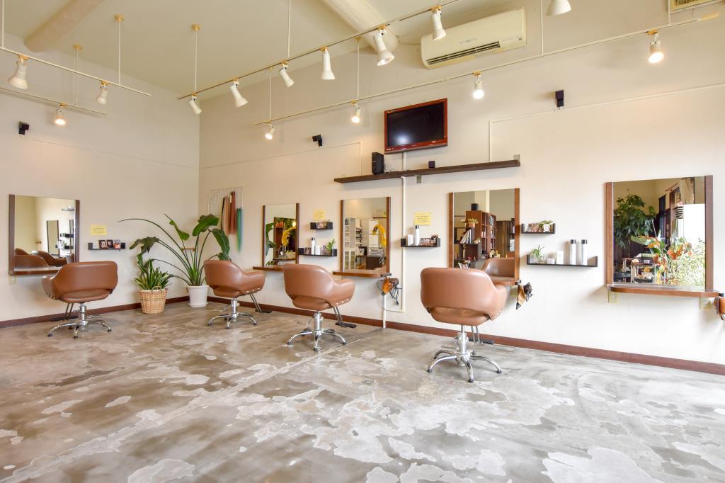 Hair Shop Lien 中央市 美容院 2