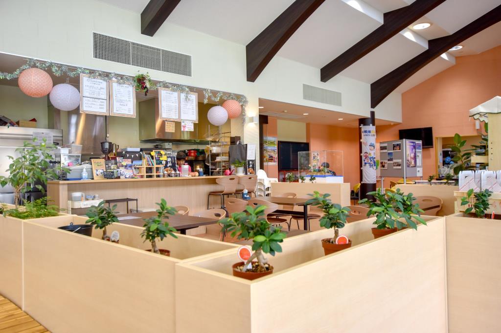 くだもの厨房オーチャードカフェ街の駅 山梨市 グルメ カフェ 3