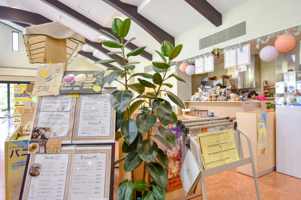 くだもの厨房オーチャードカフェ街の駅 山梨市 グルメ カフェ 5