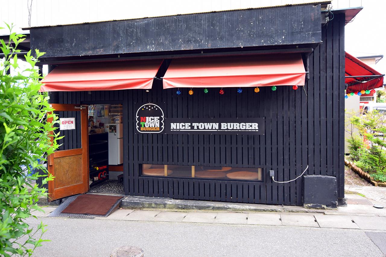 NICE TOWN BURGERの店舗外観の写真