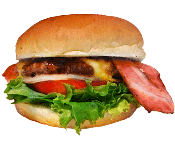 バック カントリー バーガーズのハンバーガーの写真