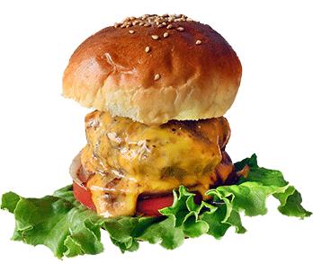 ナップベッドアンドラウンジのハンバーガーの写真