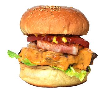 スージーズのハンバーガーの写真