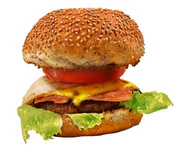 ザ・ボルトのハンバーガーの写真