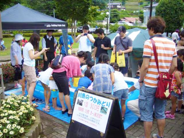 道志渓谷 渓流祭り