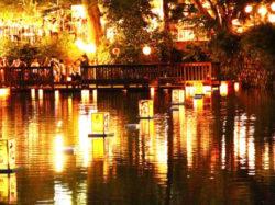 月見ヶ池弁財天祭り