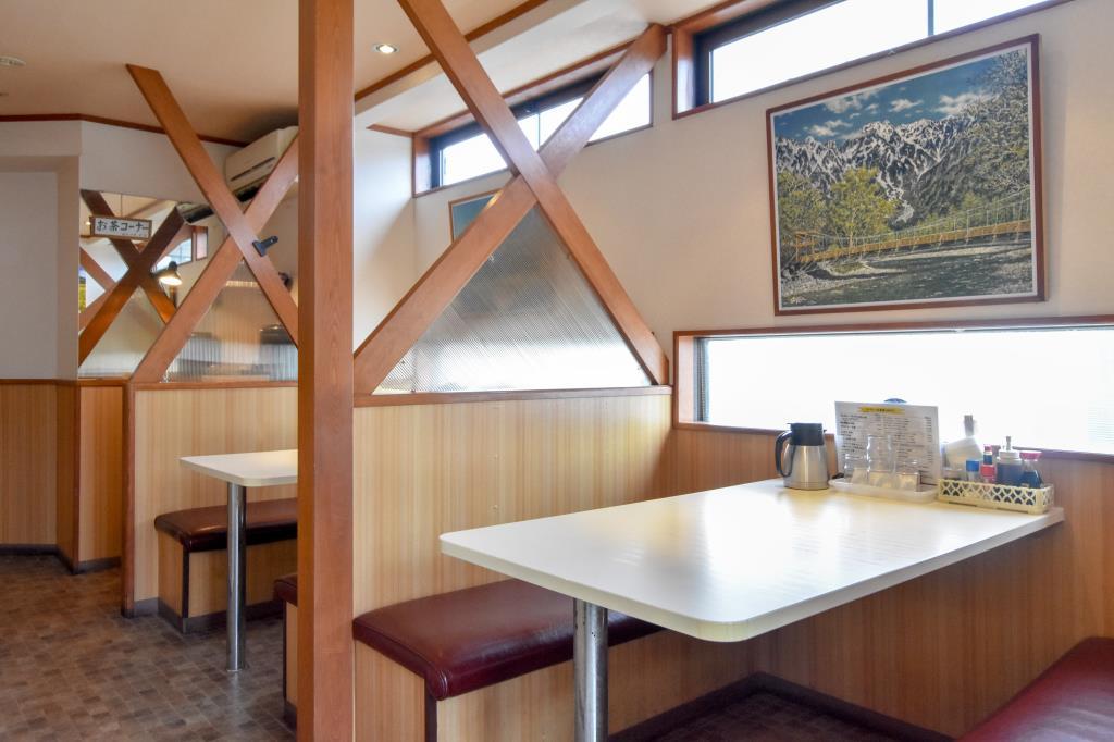 レストラン ファミリー 富士吉田市 グルメ 和食 3