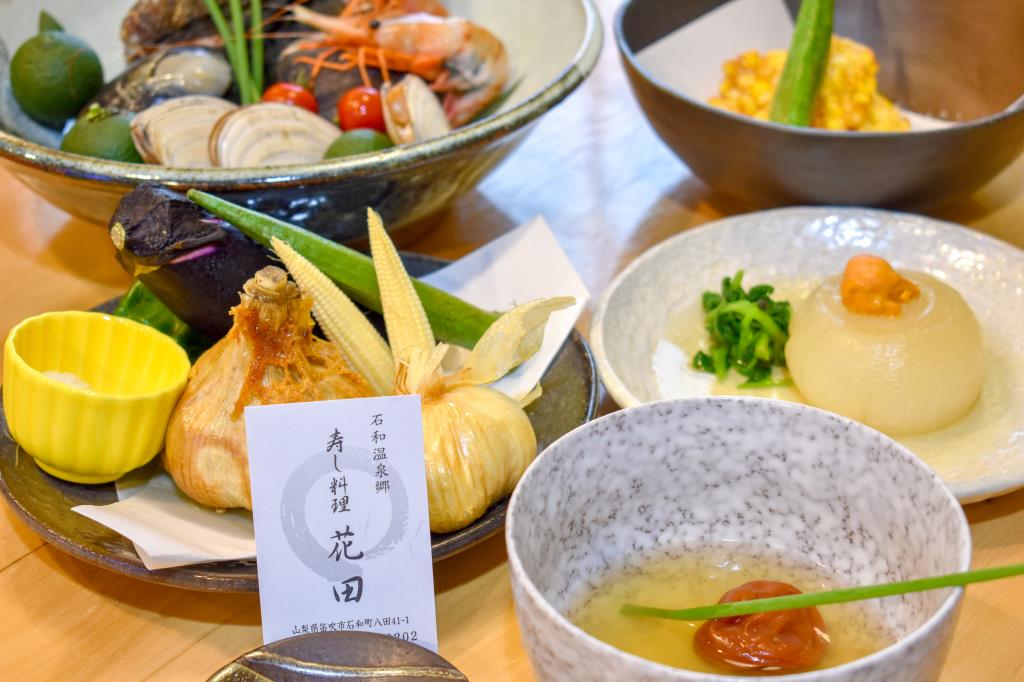 寿し料理花田 笛吹市 グルメ 寿司 1
