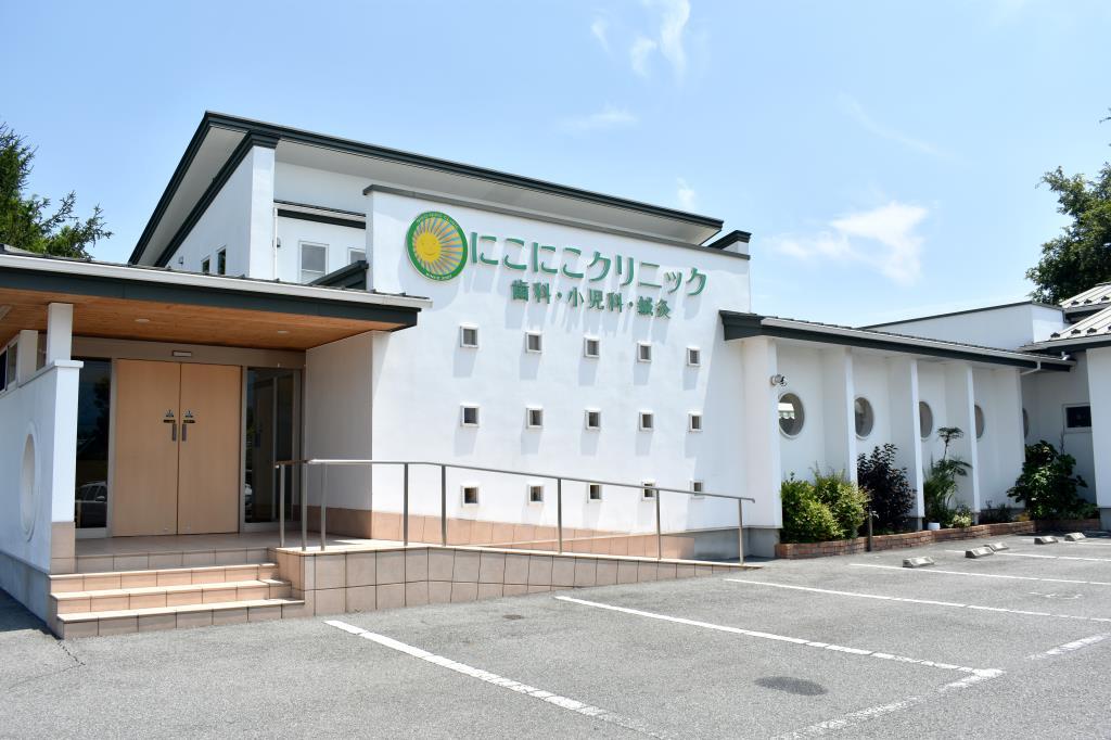 にこにこクリニック こでら小児科 韮崎市 病院 1